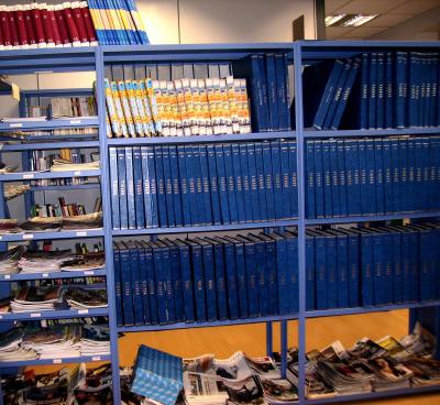 Biblioteca del servicio de documentación del periódico Berria
