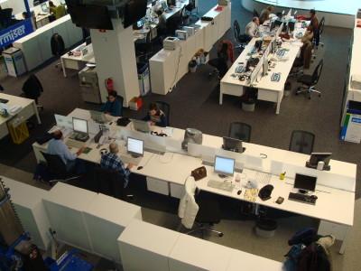 ETB- Servicio de documentación, en la redacción